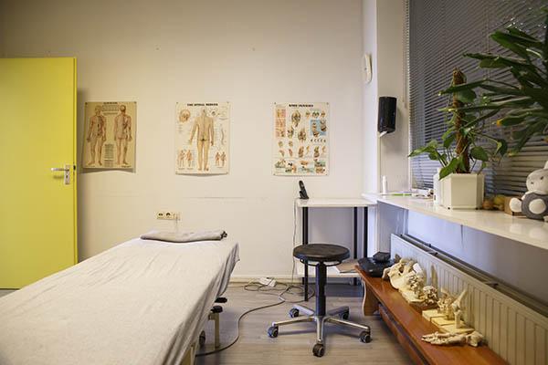 Fysiotherapie Amsterdam Zuid behandelkamer
