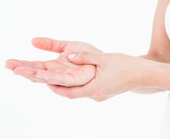 Behandeling fysiotherapie voor handpijn
