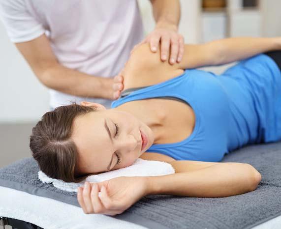 Behandeling fysiotherapie voor schouderklachten